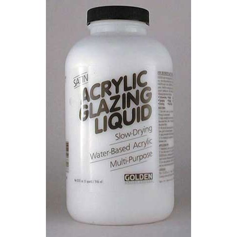 Golden - Acrylic Glazing Liquid - Satin - Pint