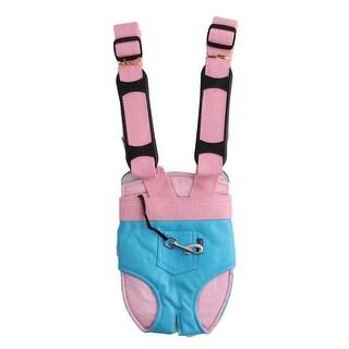 Pocket Decor Legs Out Design Double Belts Pet Dog Front Shoulder Backpack