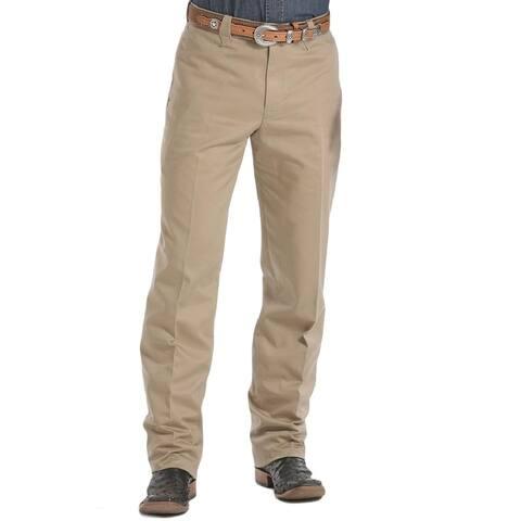 Miller Ranch Western Pants Mens Stockman II Trouser Khaki