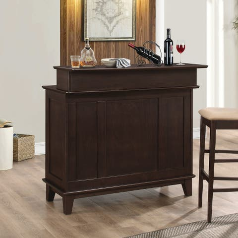 Copper Grove Parham 2-door Cappuccino Bar Unit