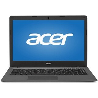 "Manufacturer Refurbished - Acer A01-431-C8G8 14"" Laptop Intel Celeron N3050 1.6GHz 2GB 32GB SSD W10"