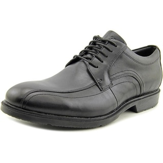 Rockport City Smart Men Round Toe Leather Black Oxford