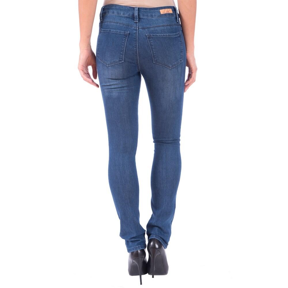 Lola Classic Straight Jeans, Kristine-MB - Thumbnail 1