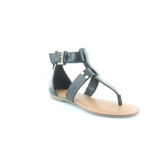 Tommy Hilfiger Lisette Women's Sandals & Flip Flops Black - 6