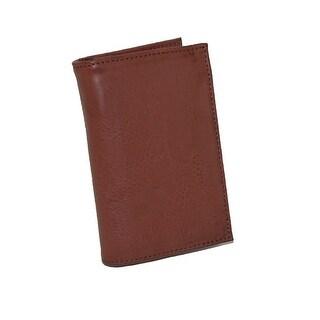 Buxton Men's Leather RFID Bi-Fold Travel Wallet - One size