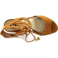 G by Guess Womens Estes Open Toe Casual Platform Sandals