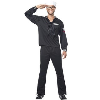 California Costumes Retro Navy Adult Costume - Blue