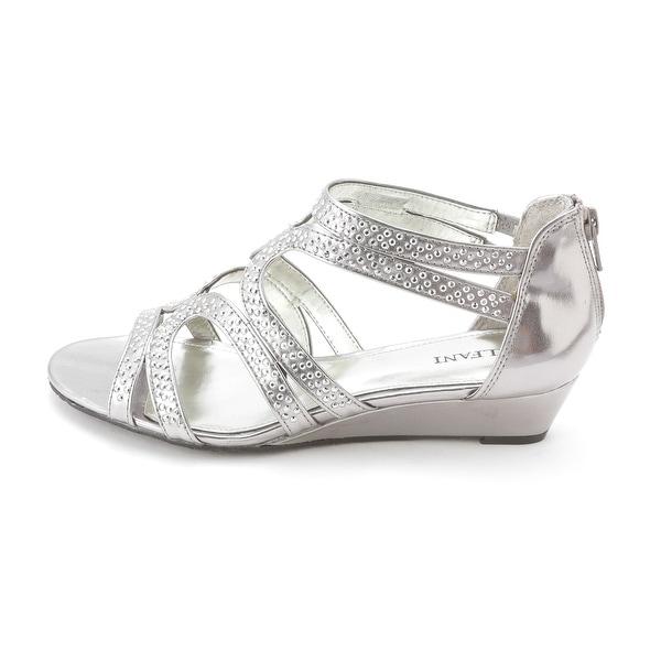 Alfani Womens GYPSIE Fabric Open Toe Formal Slide Sandals