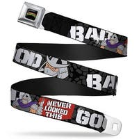 Classic Tmnt Logo Full Color Shredder Poses Bad Never Looked This Good Seatbelt Belt