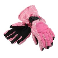 Outdoor Cycling Biking Snowmobile Snowboard Ski Gloves Athletic Mittens Pink L