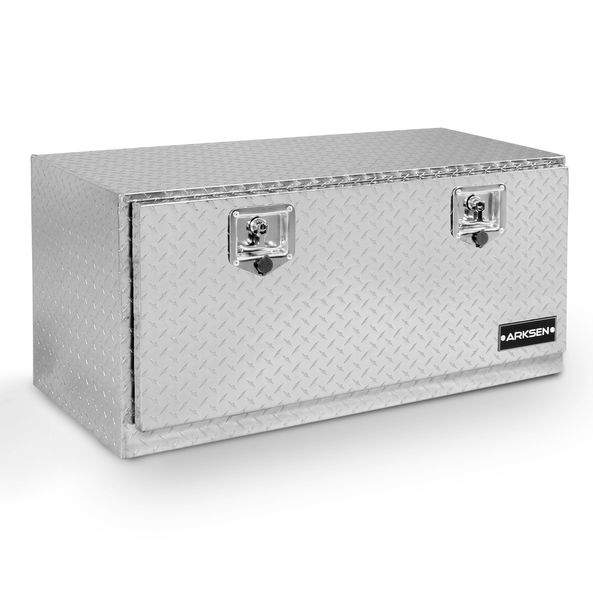 36 Aluminum Tool Box For Truck Underbody Tool Box Trailer RV Tool Storage w//Lock