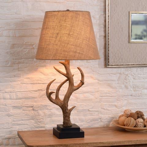 Big Buck Brown 3-Way 29-inch Table Lamp