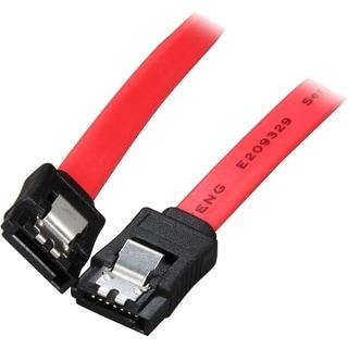 "4XEM 4XSATAL8RD 4XEM 8in SATA 3.0 Latching Serial ATA Cable - SATA for Storage Drive, Hard Drive - 8"" - 1 x Male SATA - 1 x"
