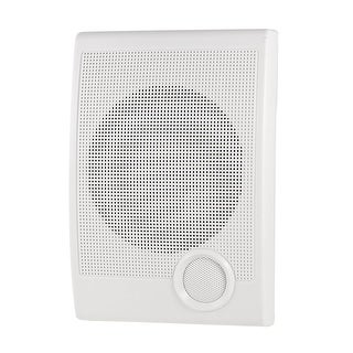 Household Wall Surface Mount Audio Loudspeaker Speaker Replacement White 3W-10W
