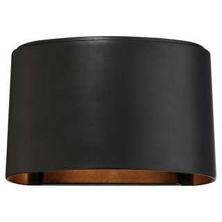 The Great Outdoors 72400-615B-L 1 Light ADA Compliant LED Outdoor Wall Sconce from the Everton Collection