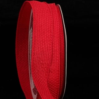 "Pack of 4 Red South Oxford Wired Art Craft Ribbon 7/8""W x 80 Yards"