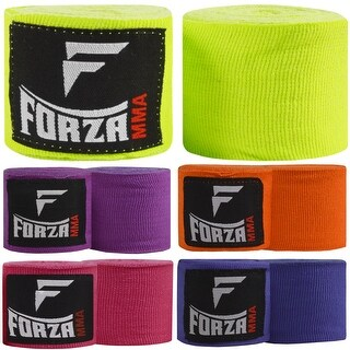 "Forza Sports 120"" Mexican Style Boxing and MMA Handwraps - 5-Pack"