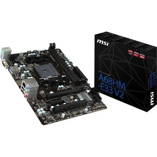 MSI USA A68HM-E33 V2 Desktop Motherboard