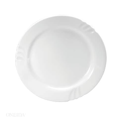 """Oneida Briana Porcelain Plates 9"""" (Set of 24)"""