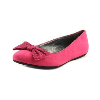Mia Girl Bow Youth Round Toe Canvas Pink Ballet Flats|https://ak1.ostkcdn.com/images/products/is/images/direct/afc2695bfea45f8bf68554cfeea4b2ffde01ca2a/Mia-Girl-Bow-Youth-Round-Toe-Canvas-Pink-Ballet-Flats.jpg?impolicy=medium