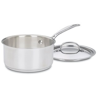 Cuisinart 719-18 Chef's Classic Sauce Pan With Cover, 2 Quart