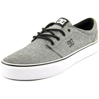 DC Shoes Trase TX SE Men Round Toe Canvas Black Skate Shoe