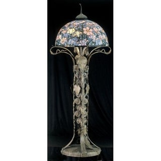 Meyda Tiffany 49874 Stained Glass / Tiffany Floor Lamp from the Classic Tiffany