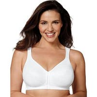 Playtex 18 Hour Front Close Posture Bra - Size - 46DD - Color - White