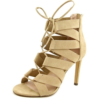 Charles By Charles David Idlewild Women Open Toe Synthetic Tan Sandals