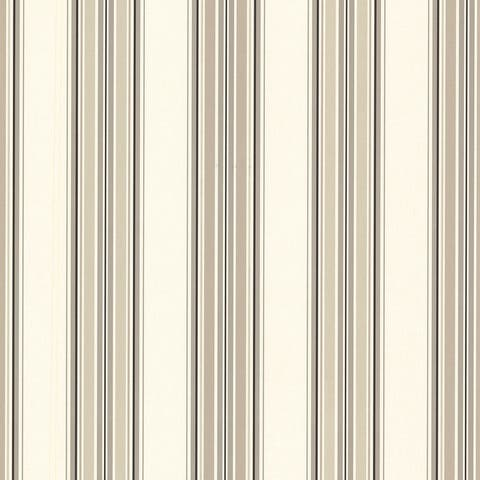 "Bren, Marine Ocean Sailor Stripe, 33' L X 20.5"" W, Wallpaper Roll"