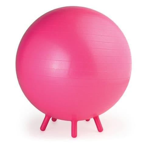 Gaiam 05-61653-p gaiam kids stay-n-play ball 45cm pink
