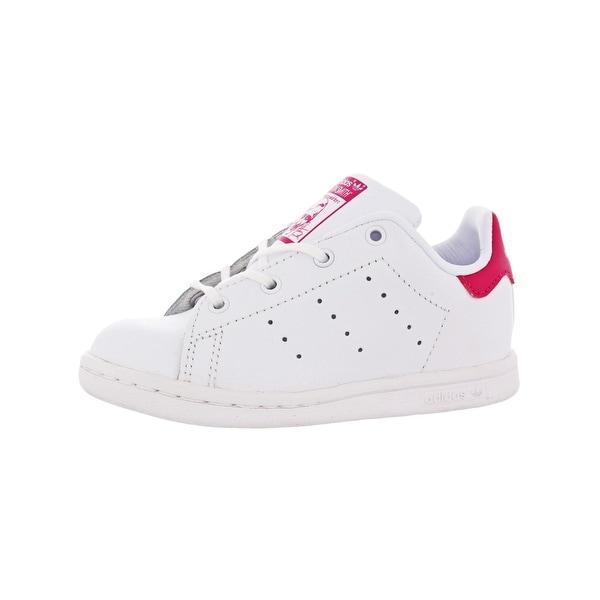 e3297740563e4 adidas Originals Kids Girls Stan Smith I Athletic Shoes Signature Shoes - 7  medium (b