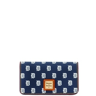 Dooney & Bourke MLB Tigers Large Slim Phone Case (Introduced by Dooney & Bourke at $78 in May 2015) - Navy