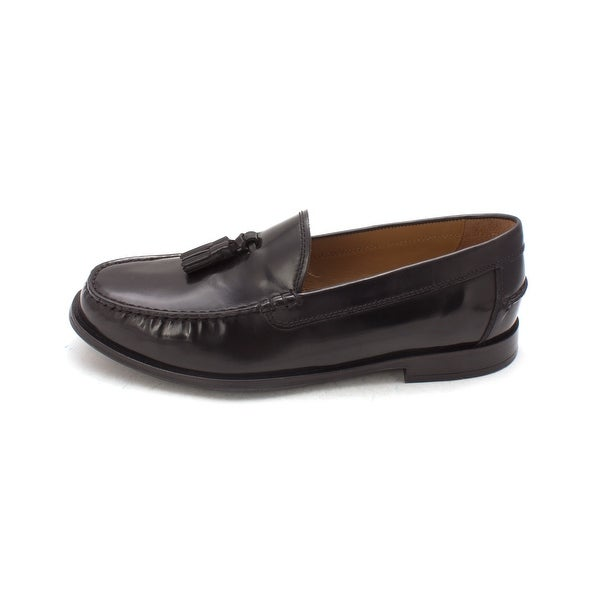 Cole Haan Mens Pinch Classic Tassel Leather Closed Toe Penny Loafer - 8.5