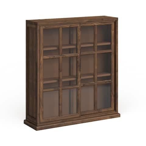 "SAFAVIEH Greg Oak Storage Bookcase - 39"" W x 11.4"" L x 40.2"" H"