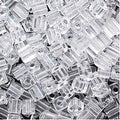 Miyuki 4mm Glass Cube Beads Crystal Clear 131 10 Grams - Thumbnail 0