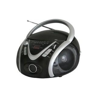 """Naxa NAXNPB246B NAXA Electronics NPB-246 Portable MP3-CD Player with AM-FM Stereo Radio and USB Input"""