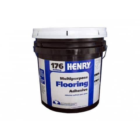 HERNY 11987 Multi-Purpose Flooring Adhesive, #176, 4 Gallon