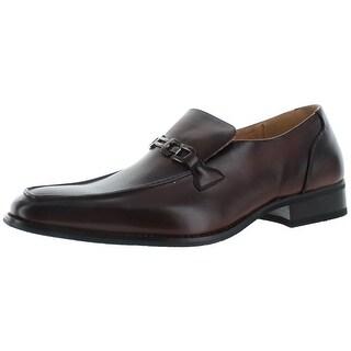 Moda Essentials Men's Slip On Buckle Loafers Dress Shoes