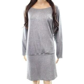 The Vanity Room Womens Medium Petite Sheath Dress