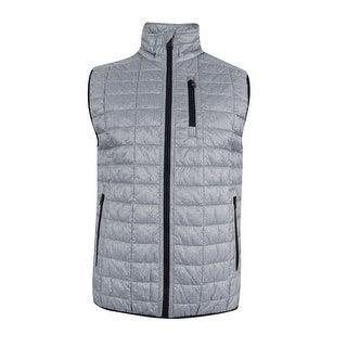Tommy Hilfiger Men's Beekman Insulator Vest (M, Grey) - Grey - M