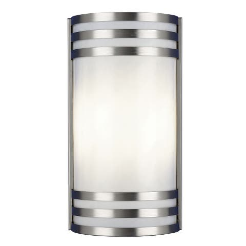 Trillium Satin Nickel Outdoor Light