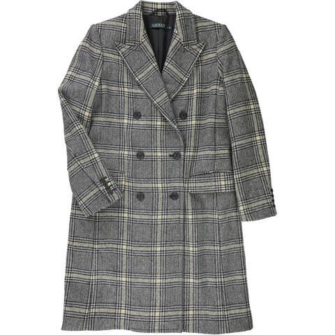 Ralph Lauren Womens Vayko Coat, Black, 10