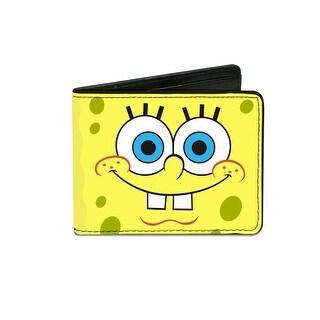 Buckle Down Kids' Sponge Bob Square Pants Billfold Wallet - sponge bob - One Size