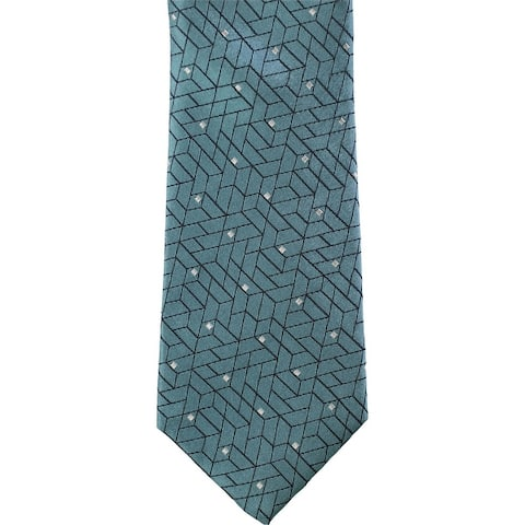 Alfani Mens Abstract Self-Tied Necktie - One Size