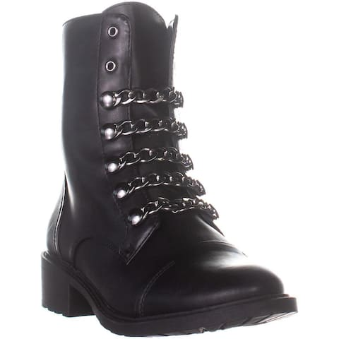 Circus by Sam Edelman Dacey Combat Boots, Black - 7.5 US