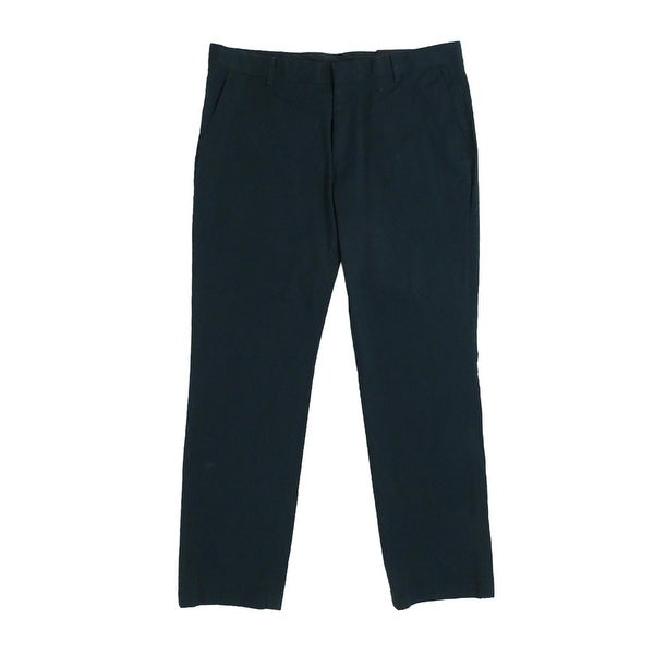 546aa4dc0d48 Shop INC International Concepts Men s Stretch Slim-Fit Pants - TEAL - Free  Shipping On Orders Over  45 - Overstock.com - 18947537