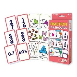 Junior Learning JRL212BN Fraction Flash Cards - Pack of 3