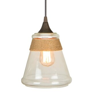 Craftmade KPM550 1 Light Mini Pendant - 7.55 Inches Wide