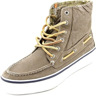 Sperry Top Sider Bahama Boot Men Round Toe Canvas Sneakers